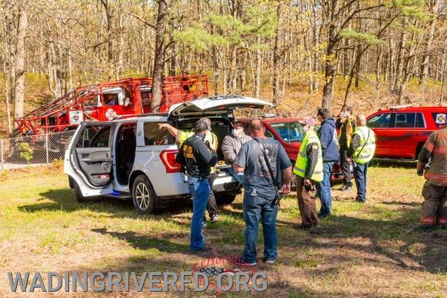 Ridge Brush Fire. Photo By. LI Hot Shots Photography & Video