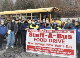 Stuff A Bus 2020. Photo By Ex Captain Robert Quaranta
