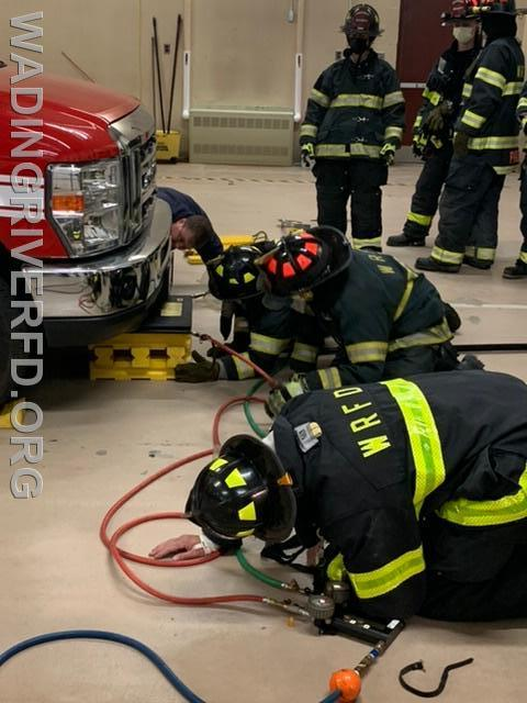 Air Bag Training. Photo By WRFD