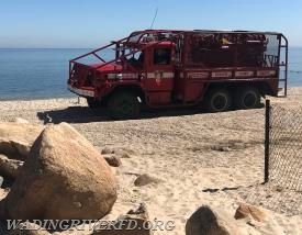 Driver Training Hulse Landing Beach. Photo By. WRFD