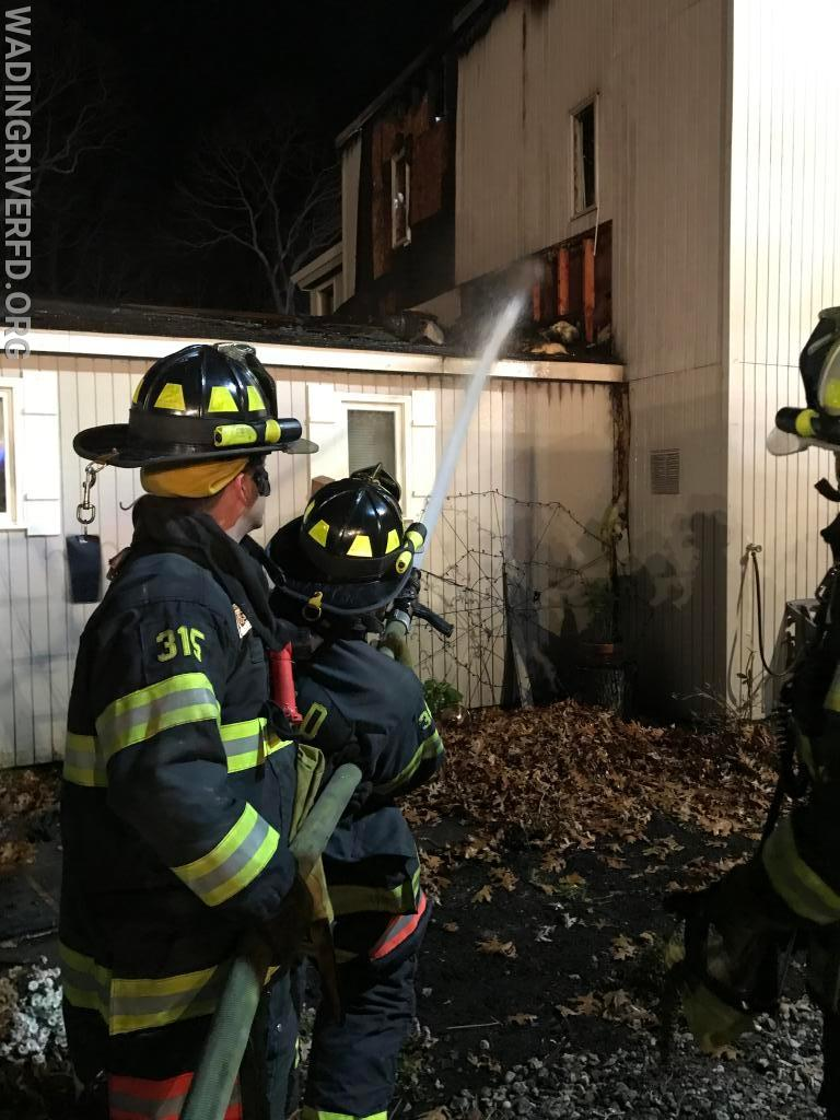 Working Fire Bayberry Rd. Photo By. WRFD