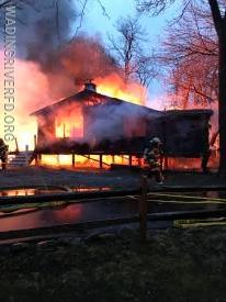 Working Fire Sound Shore Club. Photo By. WRFD
