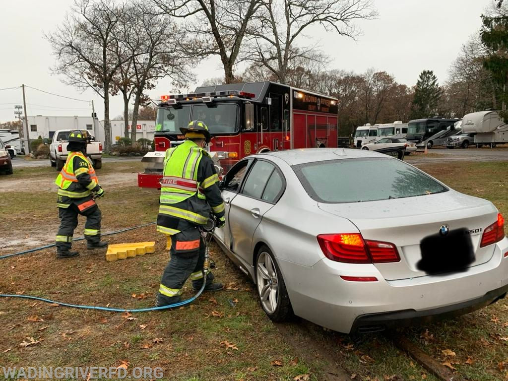 Heavy Rescue MVA Rt. 25 Photo By. WRFD